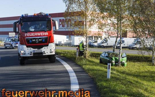 Pkw-Bergung auf der S5 bei Stratzdorf (+Video)