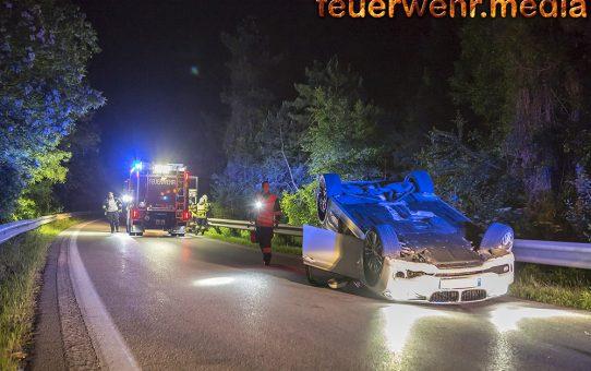 Fahrzeuglenker nach Verkehrsunfall abgängig