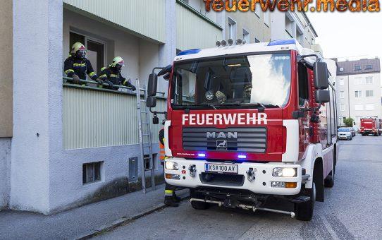 Feuerwehr verhindert Küchenbrand