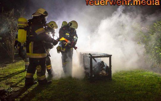 Drei Feuerwehren zum Brand auf einer Terrasse in Mautern alarmiert