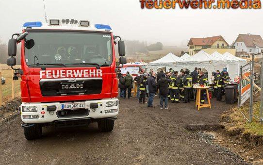 Spatenstich für neues Feuerwehrhaus in Krems-Egelsee