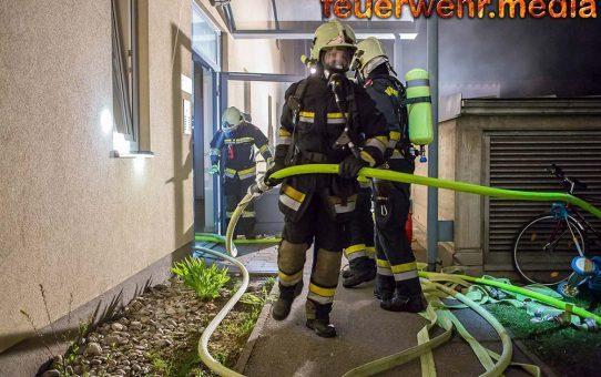 Brand in Wohnhausanlage in Landersdorf