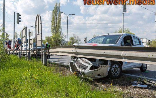Pkw-Bergung nach Unfall auf der S5