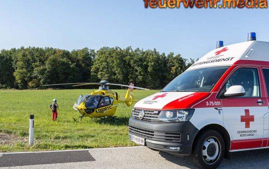 Fahrer eines Klein-Lkw bekam während der Fahrt gesundheitliche Probleme