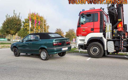 Fahrzeug aus misslicher Lage befreit