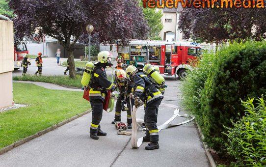 Defektes Elektrogerät verursacht einen Küchenbrand