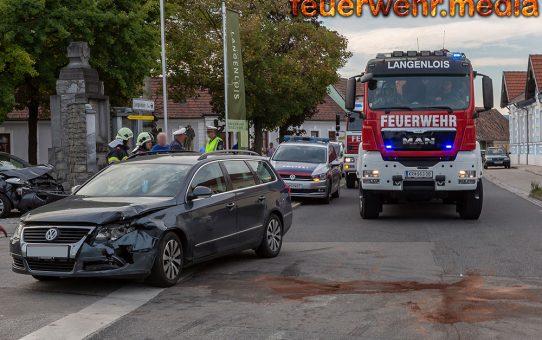 Eine verletzte Person bei Unfall in Gobelsburg