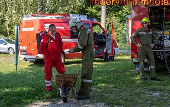 Kellerbrand in Jaidhof - Drei Feuerwehren im Einsatz