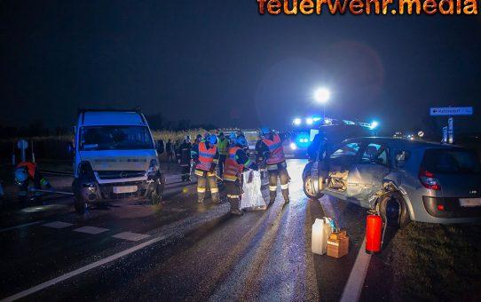 Zwei Personen bei Unfall auf der L43 verletzt