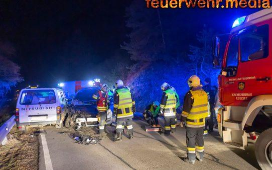Verkehrsunfall auf der L7085 zwischen Stein und Egelsee