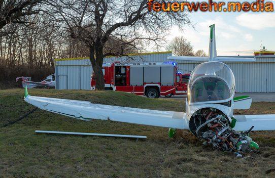 Flugzeugabsturz in Gneixendorf