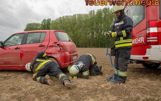 Neuerlicher Verkehrsunfall auf der Rampe zur B37a in Palt