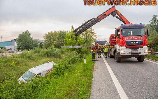 Bergung eines Kastenwagens auf der S5