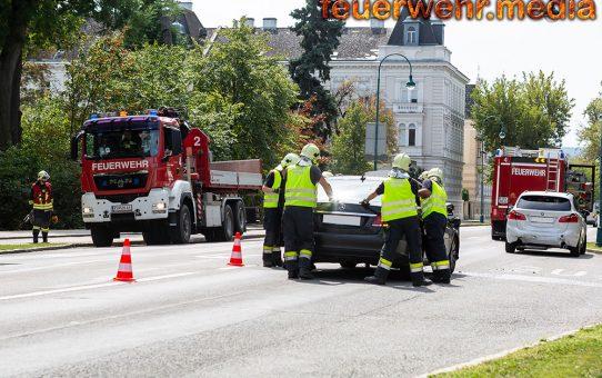 Kurze Verkehrsbehinderung nach Auffahrunfall auf der Ringstraße