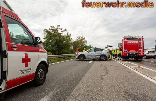 Wendemanöver auf der B37 führt zu einem Verkehrsunfall