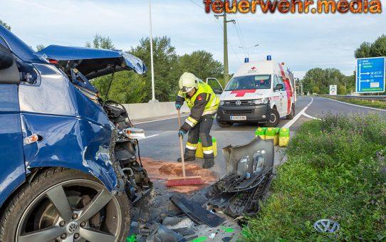 Zwei verletzte Personen nach Unfall auf der S5