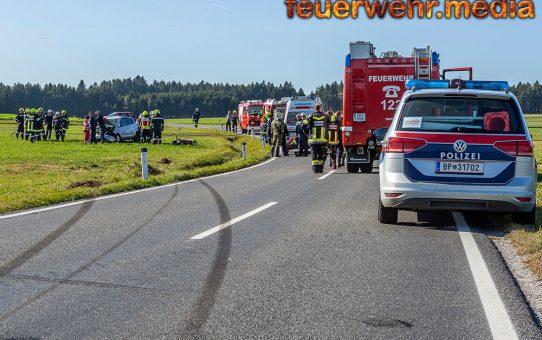 Ein Verletzter nach Fahrzeugüberschlag auf der L76 bei Gloden