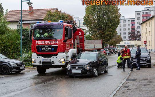 Fahrzeugkollision in der Missongasse