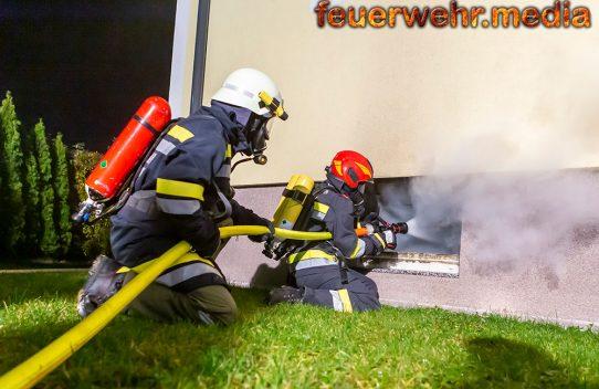 Hoher Sachschaden bei Kellerbrand in Rohrendorf