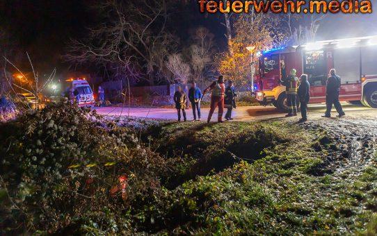 Person abgestürzt - Menschenrettung in Rehberg