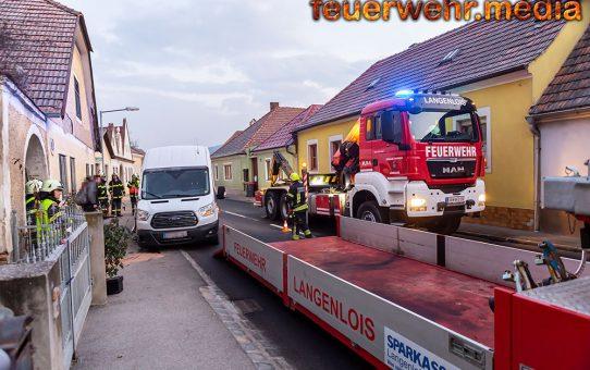 B34 nach Unfall in Zöbing kurz gesperrt