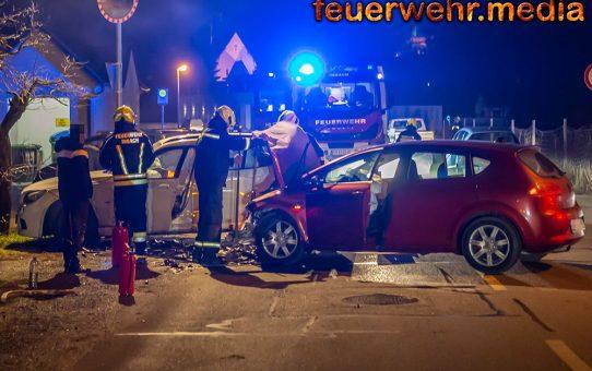 Drei Verletzte bei Unfall in Imbach
