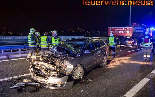 Verkehrsunfall auf der St. Pöltner Brücke