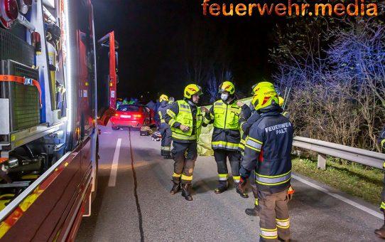 Schwerer Unfall auf der L100 in Furth