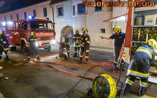 Zimmerbrand in Senftenberg rasch abgelöscht