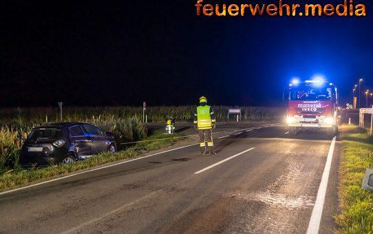 Kollision zweier Fahrzeuge vor dem Schloss Grafenegg