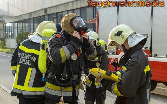 Brand in einem Kremser Gewerbebetrieb