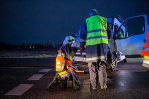 Verkehrsunfall auf der L43 beim Schloss Grafenegg