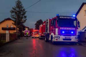 Mehrere Feuerwehreinsätze nach kurzem aber heftigen Unwetter