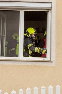 Küchenbrand - Geschirrspülgerät in Brand geraten