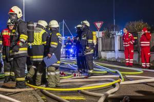 Großer Schaden bei Kellerbrand in Rohrendorf