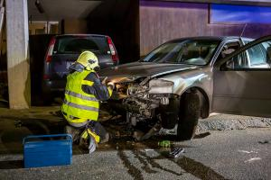 Rehberger Hauptstraße nach Verkehrsunfall gesperrt