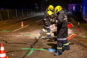 Drei Verletzte bei Kollision von zwei Fahrzeugen in Imbach