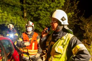 Feuerwehr rettet Bewohner bei Wohnhausbrand