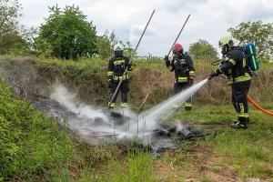 Flurbrand in Langenlois rasch gelöscht