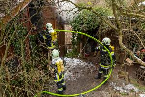 Mehrere Feuerwehren bei Dachstuhlbrand in Reith im Einsatz