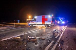 Kollision zwischen Pkw und Lkw fordert ein Todesopfer