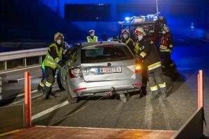 Aufpralldämpfer verhindert bei Unfall auf der B37a schlimmeres