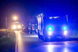 Massiver Motorölaustritt nach einem Wildunfall