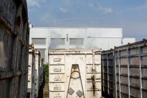 Container in einem Kremser Gewerbebetrieb in Brand geraten