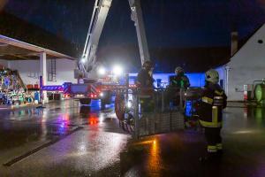 Dachstuhlbrand in Gobelsburg - Fehleinschätzung des Anzeigers