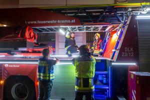 Wasserdampf am Dach von Stift Göttweig führt zu Feuerwehreinsatz