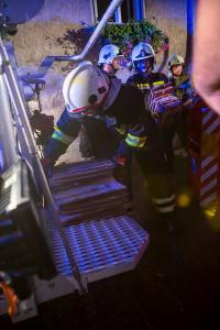 Massiver Feuerwehreinsatz nach Hagelunwetter über Rossatz