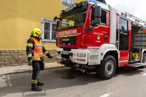 Zwei Verletzte nach Unfall auf der L43 in Walkersdorf